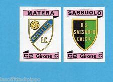 PANINI CALCIATORI 1984/85 -FIGURINA n.574- MATERA+SASSUOLO -SCUDETTO -Rec