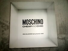 Moschino Cheap and Chic fashion catalog 2009 Spring Summer coat dress shoes
