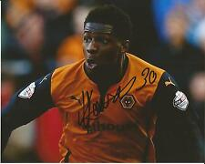 Hand Signed 8x10 photo KORTNEY HAUSE Wolves Wolverhampton Wanderers Football Clu
