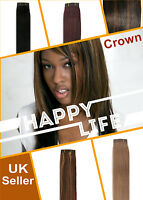 100g Yaki Straight 100% Human Hair Weave Weft Extensions Multi-Colour weaves