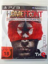 PLAYSTATION PS3 GIOCO Homefront Multigiocatore USK18, usato ma BENE