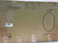 """Pegasus 24""""x 36"""" Recessed/Surface Mount Medicine Cabinet w/ Oval Beveled Mirror"""