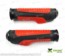 Xtreme handlebar Red Racing Grips Model B For Piaggio Vespa