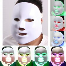 Acne Wrinkle Spot Removal 7 Light LED Photon Therapy Skin Rejuvenation Face Mask