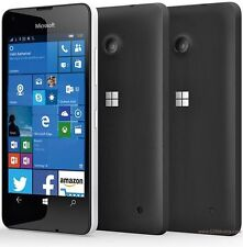 Brand New Microsoft Nokia Lumia 550 Black 4G LTE Sim Free Mobile Phone-WINDOWS