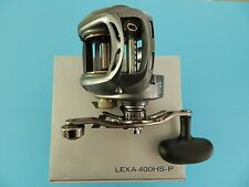 Daiwa Lexa LEXA400HS-P Lexa 400 High Speed Right Hand Power Baitcasters 7.1:1