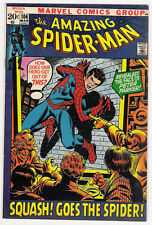 (1971) THE AMAZING SPIDER-MAN #106 JOHN ROMITA! GWEN STACY! MARY JANE! 7.0 FN/VF