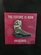 Nike Air Mag Back To The Future Pin/Lapel Marty McFly *LIMITED* *RARE*