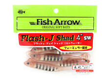 Fish Arrow Soft Lure Flash J Shad SW 4 Inch 5 Piece per pack #133 (1339)