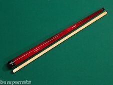New Red Viking Pool Cue Billiards Stick Lifetime Warranty Free Shipping 104