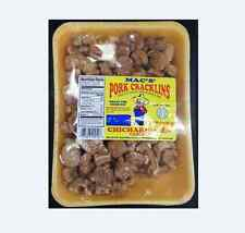 Mac's pork cracklins/chicharrones caseros fried out pork fat with skin 8oz snack