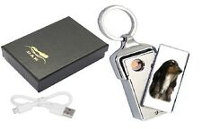 Afghan Hound Dog Design USB Rechargeable Flameless Lighter USBAFGHAN2 paws2print