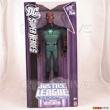 Justice League Unlimited Lord Green Lantern 10 inch vinyl figure WORN purple box