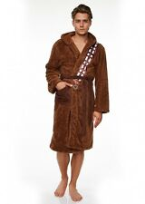 Mens Official Star Wars Chewbacca Wookie Robe Dressing Gown Bath Night Gown