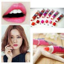 6Pcs Tattoo Magic Color Peel Off Mask Tint Long Lasting Waterproof Lip Gloss BS