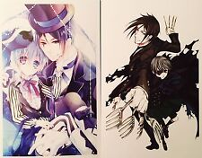 Kuroshitsuji Black Butler-CIEL SEBASTIAN ALOIS CLAUDE Postcard Photo Card Set #C