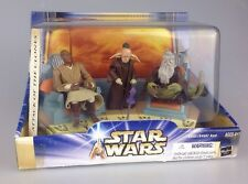 Star Wars Attack Of The Clones Jedi High Council 1 Of 2 Mace, Oppo & Even Piell