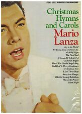MARIO LANZA - Christmas Hymns and Carols - 1963 LP - RCA Camden CAS-777