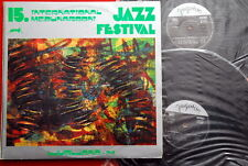XV INTERNATIONAL JAZZ FEST LJUBLJANA '74 GOJKOVIC DUSKO GOYKOVICH YU 2LP N/MINT