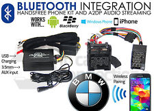 BMW série 5 Appels mains libres Bluetooth streaming E39 CTABMBT007 AUX MP3