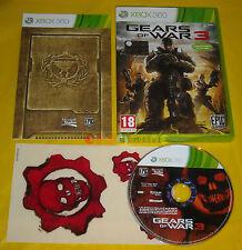 GEARS OF WAR 3 XBOX 360 Versione Ufficiale Italiana 1ª Edizione »»»»» COMPLETO