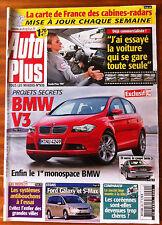 AUTO PLUS du 25/04/2006; BMW V3/ Essai Voiture qui se gare toutes seule/ Galaxy