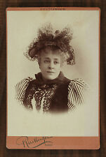 Anna Judic, Actrice Théâtre Opéra, Photo Cabinet card, Reutlinger Paris