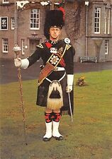 BR90055 drum major firts battalion  black watch balhousie castle perth scotland