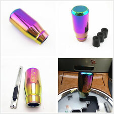 Colorful Vehicle 5 Speed Aluminum Alloy Car Manual Gear Shift Knob Stick Handle