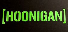 HOONIGAN DECAL STICKER EURO SUV CHEVY FORD HONDA VW DODGE JDM WINDOW CAR TRUCK