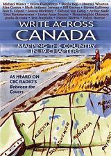 WRITE ACROSS CANADA - NEW PAPERBACK BOOK