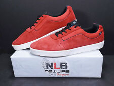Vans Off The Wall TC8G Suede Red/Black VN-0SEMY25 Men's Size 10