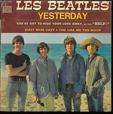 THE BEATLES YESTERDAY +3 FRENCH EP 45T ODEON SOE 3772 BIEM