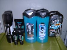 Axe Chilled Face Wash Sport Blast 2in1 Wash Shampoo Shield Shave Gel Bic Flex 4