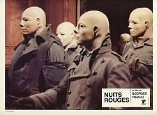 GAYLE HUNNICUTT GEORGES FRANJU NUITS ROUGES 1974 9 VINTAGE LOBBY CARDS LOT