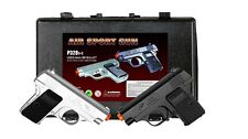 New CYMA TWIN AIRSOFT DUAL SPRING PISTOL Combo Pack Hand Gun Set w/ Case