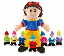 TELLATALE SNOW WHITE HAND GLOVE PUPPET FIESTA CRAFT NEW