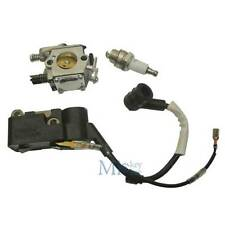 CARBURETTOR IGNITION COIL & Spark Plug CHINESE CHAINSAW 4500 5200 5800 45 52cc