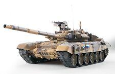 """RC Panzer """"Russland T90"""" Heng Long 1:16 Rauch & Sound Metallgetriebe 2,4 GHz Neu"""