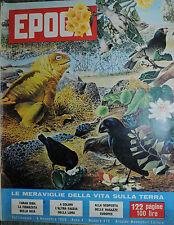 EPOCA N°475/ 08/NOV/1959 * FARAH DIBA LA FIDANZATA DELLO SCIA' -