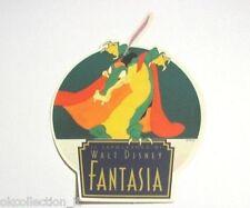 """ADESIVO anni '80 /Old Sticker FILM DISNEY 1940 """"FANTASIA"""" (cm 10x13) COCCODRILLO"""