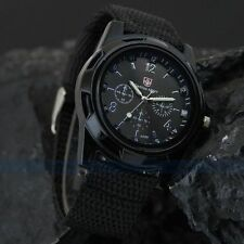 Montre Militaire Sport Armée Suisse Gemius Swiss Army Noir Homme Watch Men Black