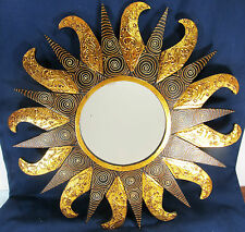 "Mirror wall mount sun flare ""Rococo Frame"" home decor 920"