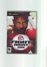 EA SPORTS FIGHT NIGHT 2004 - ORIGINALXBOX BOXING GAME/ 360 COMPATIBLE COMPLETE