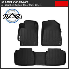 MAXFloormat All Weather Custom Floor Mat Liner Black Fit Buick LaCrosse 10-16