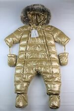 Tartine Et Chocolat Baby Girl Snow Suit/ Bunting Gold Size 1A (12 Months)