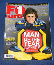 F1 RACING DECEMBER 2005 - 2005 MAN OF THE YEAR AWARDS