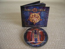 CIRCLE II CIRCLE: Watching The Silence *Limited Edition Digibook CD !* Savatage