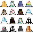 Fashion New Unisex Emoji Backpacks 3D Printing Bags Drawstring Backpack Gifts
