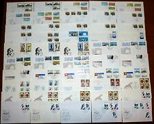 62x Brief DDR FDC 1988 Ersttagsbrief Lot Posten Sammlung SST (43